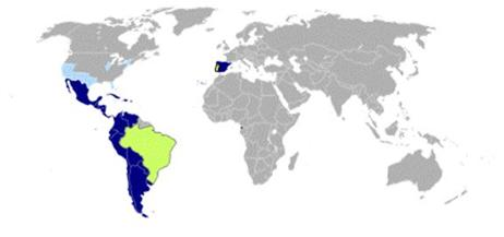 Spanish and Portuguese Speaking World