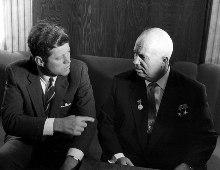 "the relation of nikita khrushchev with the cuban missile crisis Nikita khrushchev ""the americans knew that if russian blood were shed in cuba, american blood would surely be shed in germany the american government was anxious to avoid such a development it had been, to say the least, an interesting and challenging situation the two most powerful nations of the world had."