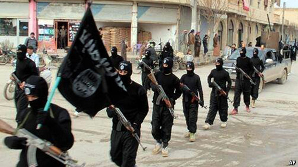 Insurgents of ISIS - AP