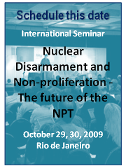 Nuclear Disarmament and Non-proliferation: The future of the NPT